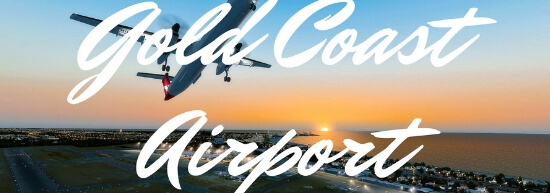 Gold Coast Airport Banner