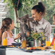 Koala Breakfast at Paradise Country